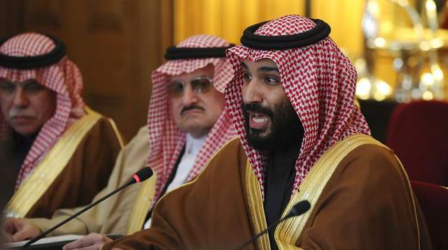 Putra Mahkota Arab Saudi, Mohammed bin Salman. (Dan Kitwood/Pool via AP)