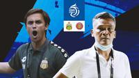 BRI Liga 1 - Duel Pelatih - Bhayangkara FC Vs Persiraja Banda Aceh (Bola.com/Adreanus Titus)