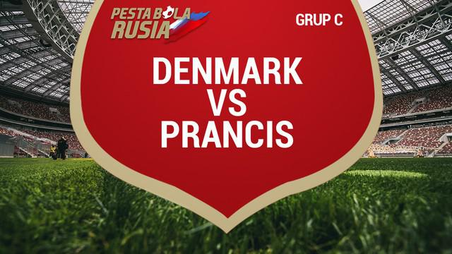 Pada pertandingan terakhir grup C, duel antara Denmark Vs Prancis berakhir imbang 0-0.