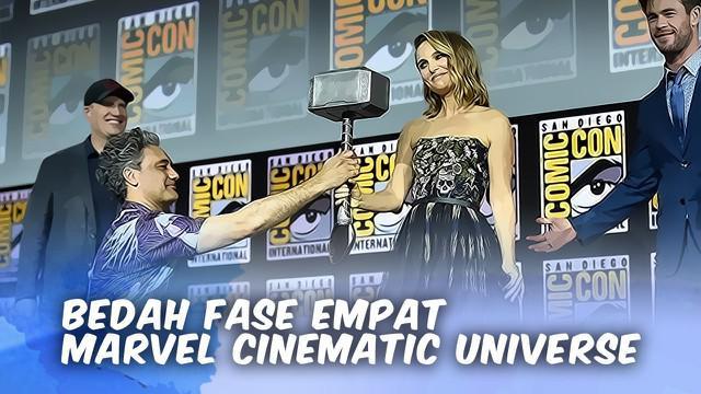 Di Comic Con 2019, Marvel mengumumkan deretan film yang bakal hadir di fase ke-4 Marvel Cinematic Universe.