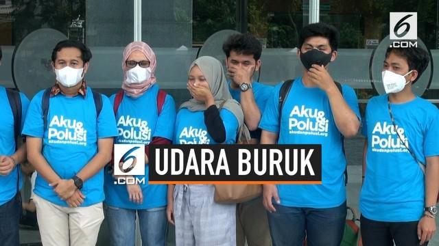 Sebanyak 31 orang yang biasa beraktivitas di Jakarta menggugat Gubernur DKI Jakarta Anies Baswedan ke Pengadilan Negeri Jakarta Pusat. Mereka menilai Anies tidak bisa memenuhi hak atas lingkungan hidup yang baik dan sehat.