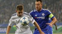 Kepten Chelsea, John Terry, menganggap timnya sedang mengalami kesialan karena gagal meraih kemenangan melawan Dynamo Kiev.