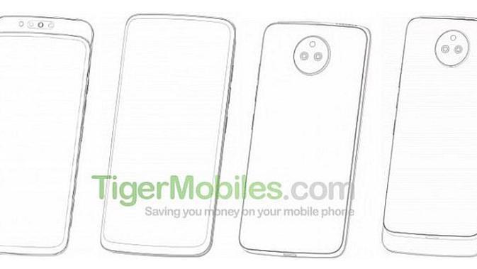 Paten smartphone Lenovo dengan desain slider (Foto: screenshot via GSM Arena)