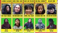 Daftar Pencarian Orang (DPO) terkait Terorisme Poso yang dikeluarkan Polda Sulteng. (Foto: Polda Sulteng).