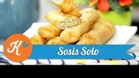 Saatnya bikin Sosis Solo sendiri di rumah untuk camilan lezat yang bisa dinikmati bersama keluarga di rumah. (Foto: Kokiku Tv)