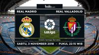 La Liga Real Madrid Vs Real Valladolid (Bola.com/Adreanus Titus)