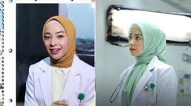 7 Gaya Nikita Willy Jadi Dokter Berhijab di Webseries Ini Curi Perhatian