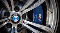 Logo BMW M Series.