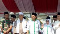 Forum Koordinasi Pimpinan Daerah (Forkopimda) Kabupaten Jombang, Jawa Timur mengapresiasi kinerja yang dilakukan oleh TNI dan Polri saat mengamankan pemilihan hingga pelantikan presiden dan wakil presiden. (Foto: Liputan6.com/Dian Kurniawan)
