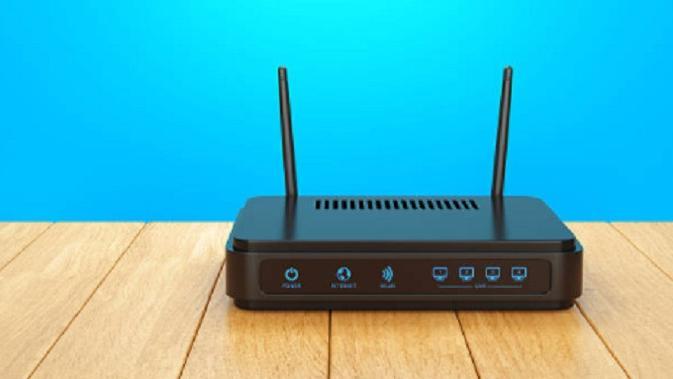 Ilustrasi modem WiFi rumah (iStock)
