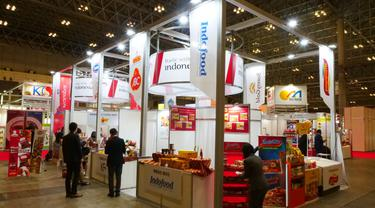 Pameran the 46th International Food and Beverage Exhibitions (Foodex) 2021.