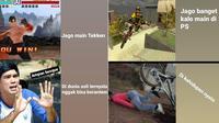 Meme ekspektasi vs realita main game dengan aslinya (Sumber: Instagram/sejiwatinja)