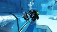 Deepspot jadi kolam menyelam yang terdalam di dunia yang dibuka di Polandia (dok.instagram/@deepspotpoland/https://www.instagram.com/p/CH7ZHQUDss-/)