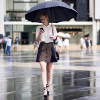 Ilustrasi style di musim hujan. (via: elbee-id.com)