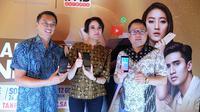 Peluncuran paket bundel smartphone Advan dengan Indosat Ooredoo (istimewa)