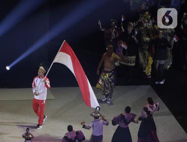 Kontingen Indonesia Tampilkan Busana Daerah di Pembukaan SEA Games 2019