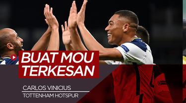 Berita video wawancara Jose Mourinho soal performa Carlos Vinicius, pemain baru Tottenham asal Brasil