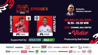 Bali Virtual Island Cup 2020 episode kelima, Fahmi Al-Ayyubi Vs Muhammad Rafli. (Sumber: Vidio)