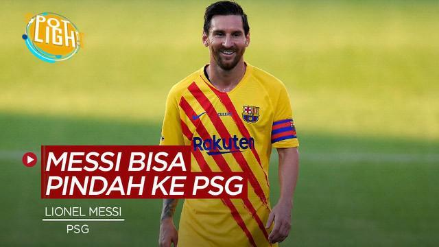 Berita video spotlight kali ini membahas 4 alasan yang akan menggoda Lionel Messi untuk bergabung dengan PSG.