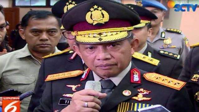 Serah terima jabatan dilakukan di Ruang Rupatama Mabes Polri, Jakarta Selatan, Jumat siang.