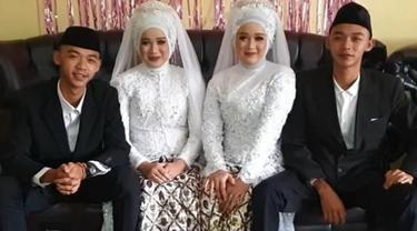 Kisah Pasangan Kembar Tinggal Serumah Usai Menikah, Tak Takut Istri Tertukar