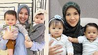 7 Potret Shaldy dan Shelma, Anak Kembar Ratna Galih yang Menggemaskan (Sumber: Instagram/@ratnagalih)