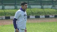Gelandang Persib Esteban Vizcarra merasa sedih ditinggalkan Srdan Lopicic. (Huyogo Simbolon)