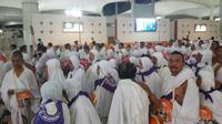 Rombongan Pertama Jemaah Haji Gelombang Kedua Tiba di Jeddah (Foto: Liputan6/Nurmayanti)