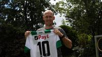 Arjen Robben kembali memperkuat FC Groningen. (Situs FC Groningen)