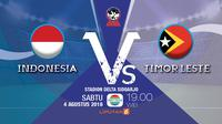 Indonesia Vs Timor Leste AFF U-16 2018
