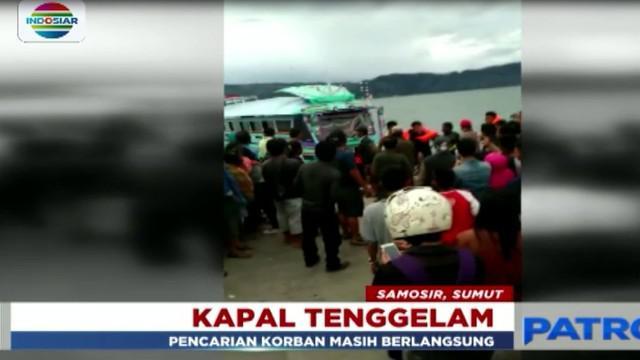 Kapal penumpang KM Sinar Bangun, tenggelam di perairan Danau Toba sekitar pukul 17.30 Senin, 18 Juni 2018.