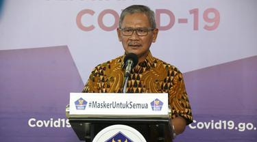 Juru Bicara Pemerintah untuk Penananganan Virus Corona Achmad Yurianto. (dok BNPB)