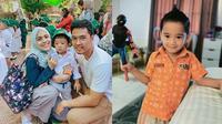 6 Momen Seleb Antar Anak di Hari Pertama Masuk Sekolah (sumber: Instagram.com/missnyctagina & Instagram.com/raffinagita1717)