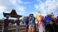 Immawan Wahyudi - Martanti Soenar Dewi menargetkan pengadaan 1.000 pompa air untuk mengatasi kekeringan di Gunungkidul. (Liputan6.com/ Hendro Ary Wibowo)