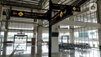 Suasana sepi penumpang di ruang tunggu keberangkatan bus AKAP Terminal Pulogebang, Jakarta, Rabu (10/6/2020). (merdeka.com/Iqbal S. Nugroho)