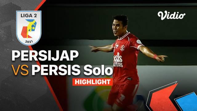 Berita Video, Hasil Pertandingan Liga 2 Pekan Kedua antara Persis Solo Vs Persijap Jepara pada Selasa (5/10/2021)