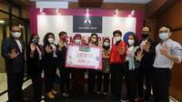 Penyerahan Petisi untuk Mensahkan RUU Penghapusan Kekerasan Seksual di Momen Hari Perempuan Internasional. foto: dok. Vancom