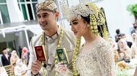 Pernikahan Ali Syakieb dan Margin Wieheerm (Sumber: Instagram/nsyakieb85)