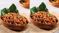 Resep sambal oncom untuk pedaskan menu makan siang. (Via: halhalal.com)