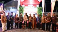 Sosialisasi Empat Pilar dilakukan dengan pagelaran Wayang dan mampu menyita perhatian dan antusiasme masyarakat setempat.