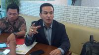Pengacara mantan Direktur Operasional Pelindo III (Liputan6.com/ Oscar Ferri)