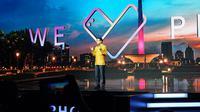 CEO Asus Jerry Shen saat merilis Zenfone 4 Selfie series ke Indonesia. (Liputan6.com/ Agustin Setyo W).