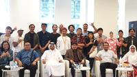 Barista Indonesia di Qatar.