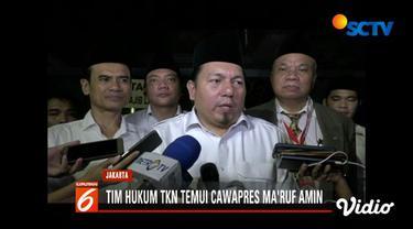 Mereka menyampaikan perkembangan jelang sidang putusan sengketa pilpres di Mahkamah Konstitusi (MK).