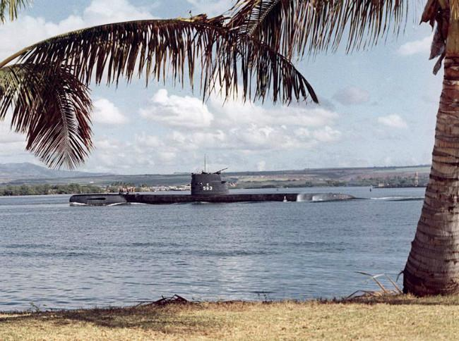 Kapal selam USS Tang. (Sumber Wikimedia/ranah publik)