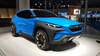 Hadir di Tokyo Motor Show 2019, Subaru VIZIV Adrenaline Concept hadir sebagai kendaraan crossover (Septian / Liputan6.com)