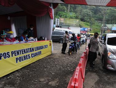 Perbatasan Bogor Cianjur Dijaga 24 Jam dari Pemudik
