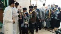 Jemaah Haji Indonesia Tiba di Hotel. Darmawan/MCH