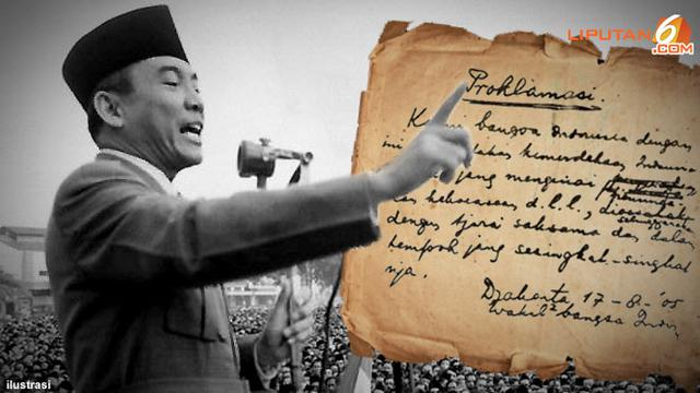 Pemuda Desak Segera Proklamasi Bung Karno Tetap Pilih 17