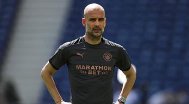Intip Latihan Manchester City Jelang Hadapi Chelsea di Final